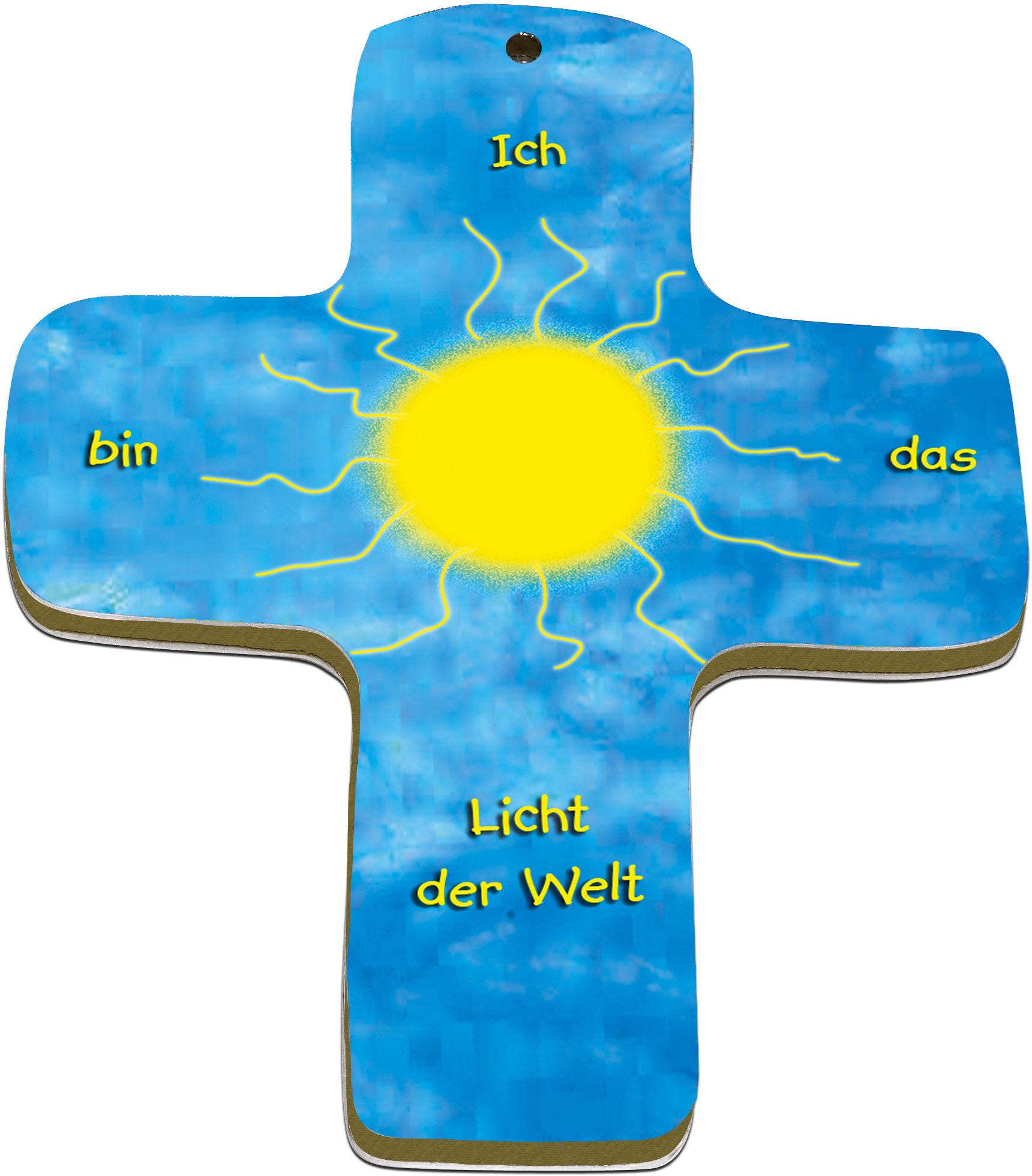 "metALUm Premium Wandkreuze ""Sonne"""
