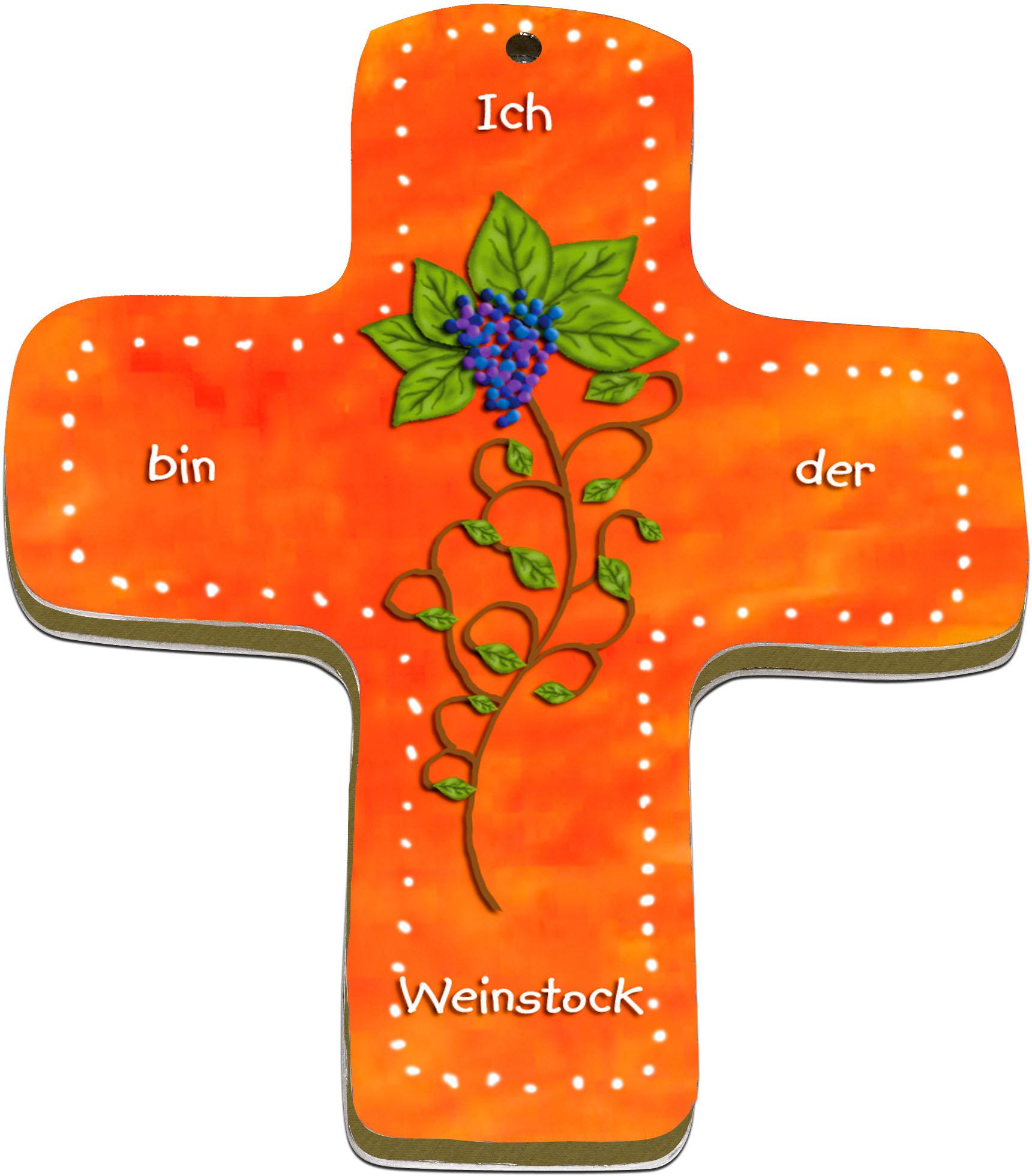 """metALUm Premium Wandkreuze """"Weinstock"""""""