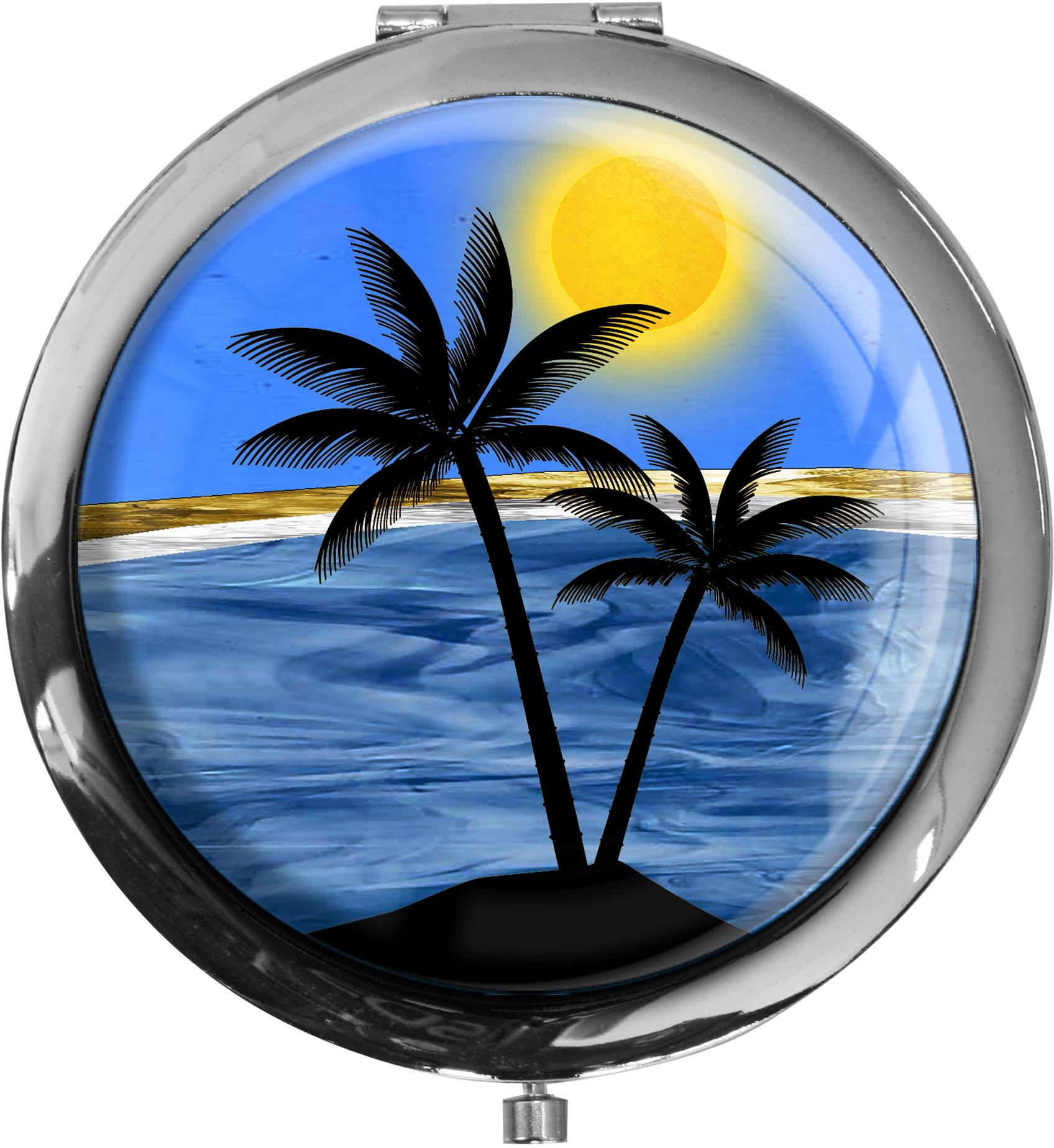 Taschenspiegel / Spiegel / Insel