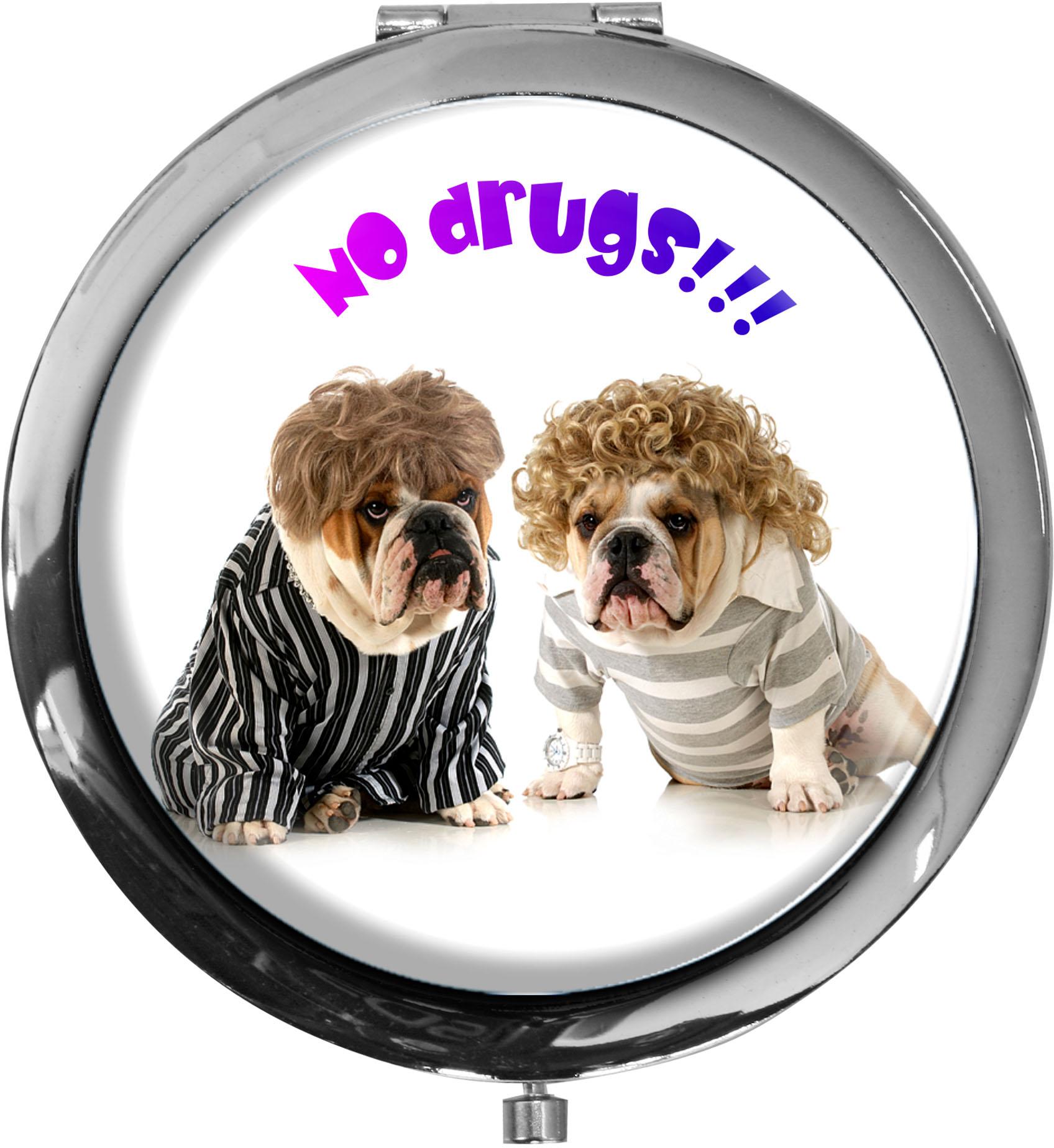 Taschenspiegel / Spiegel / Hund