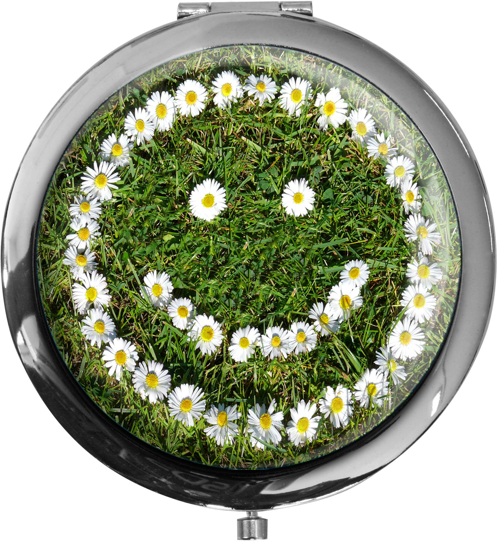 Taschenspiegel / Spiegel / Smiley