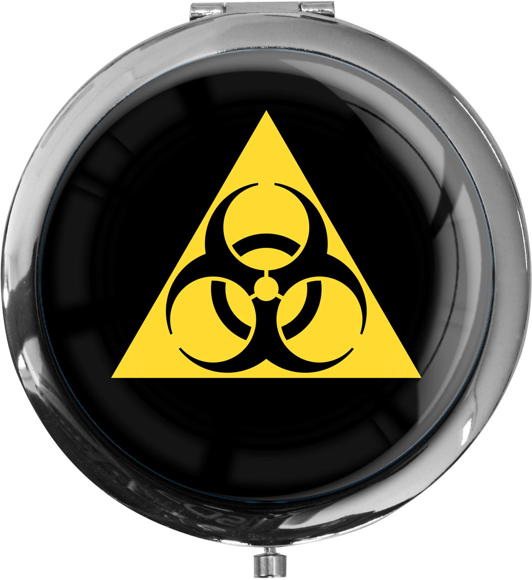 Taschenspiegel / Spiegel / Biohazard