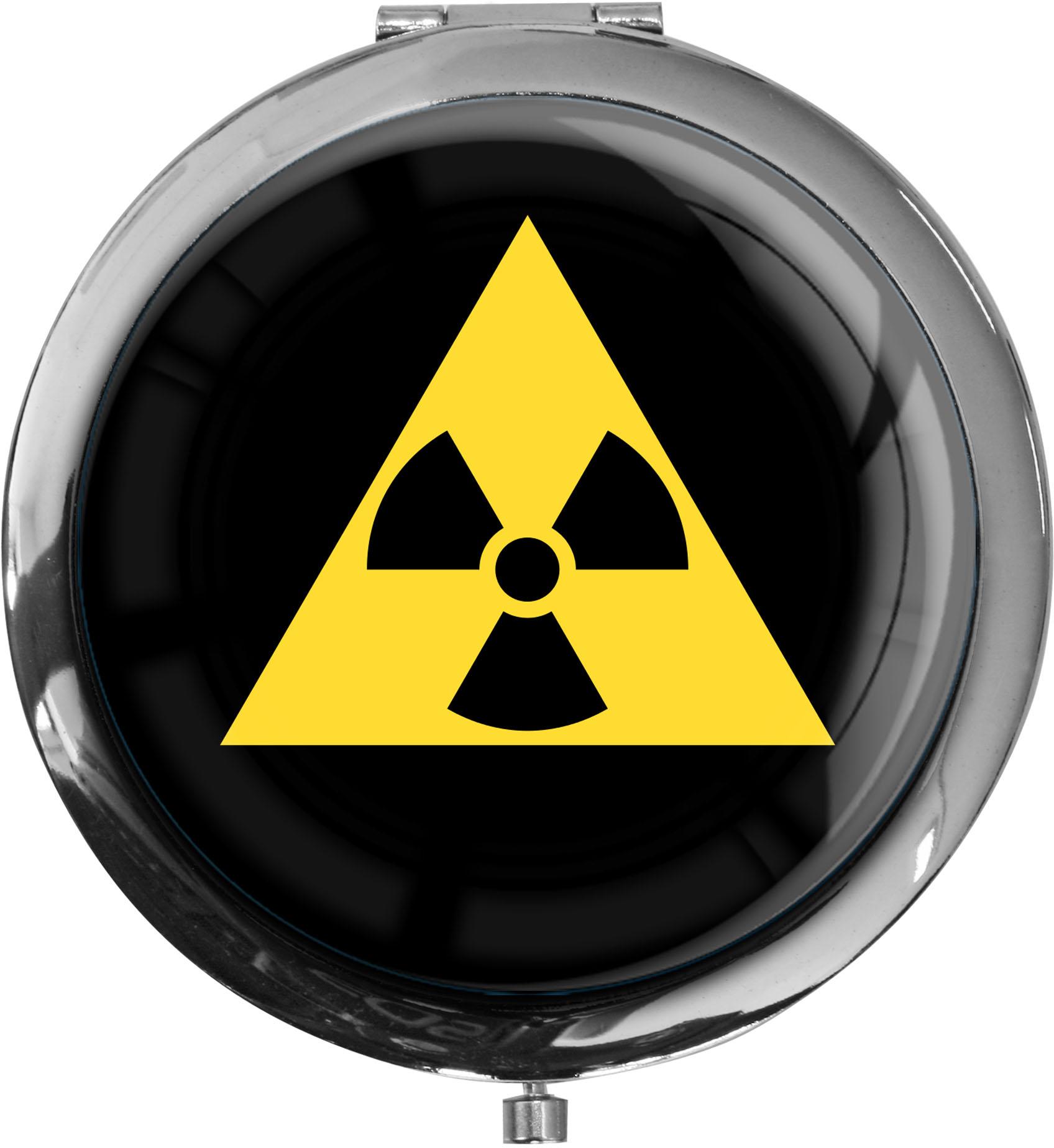Taschenspiegel / Spiegel / Radioactive