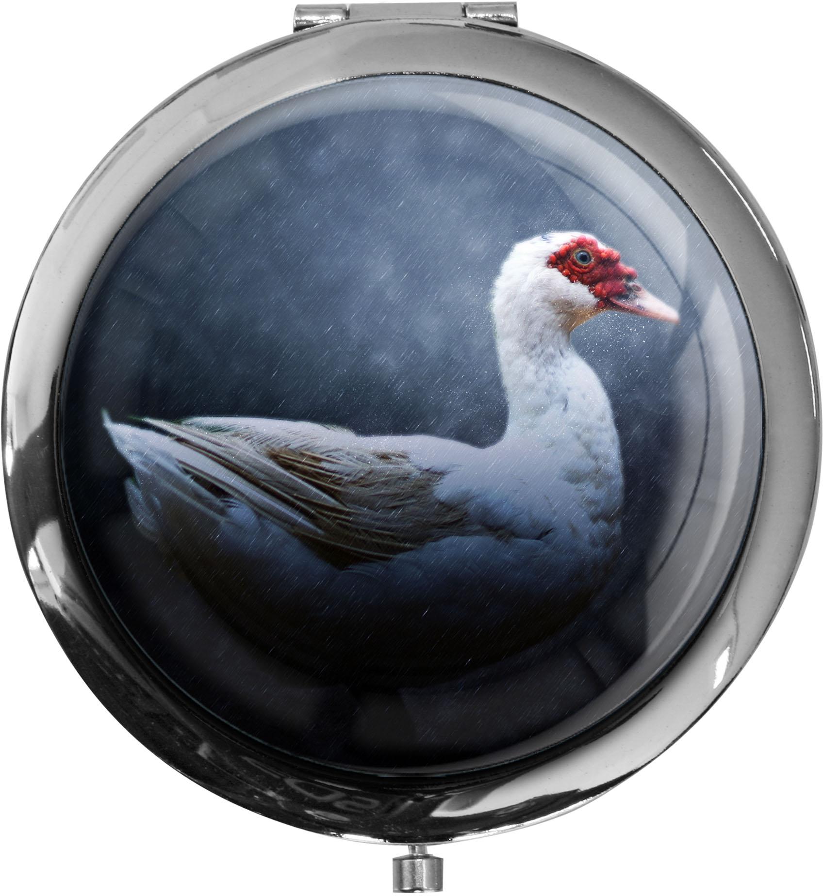 Taschenspiegel / Spiegel / Ente / Wildtiere