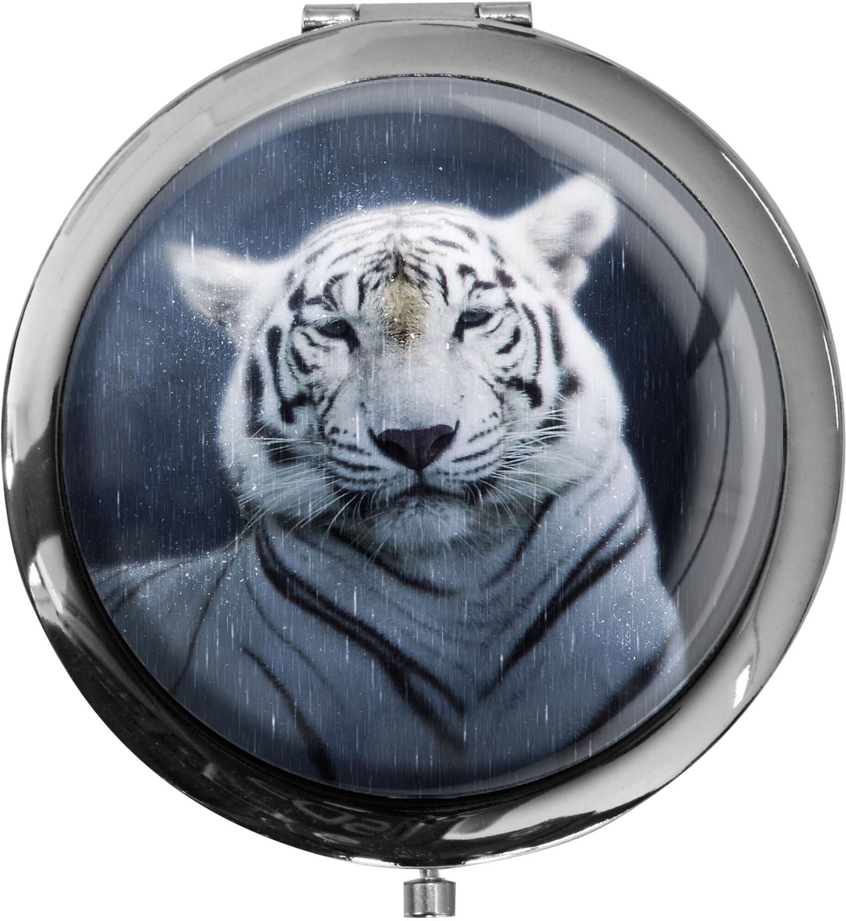 Taschenspiegel / Spiegel / Tiger / Raubtiere / Wildkatzen