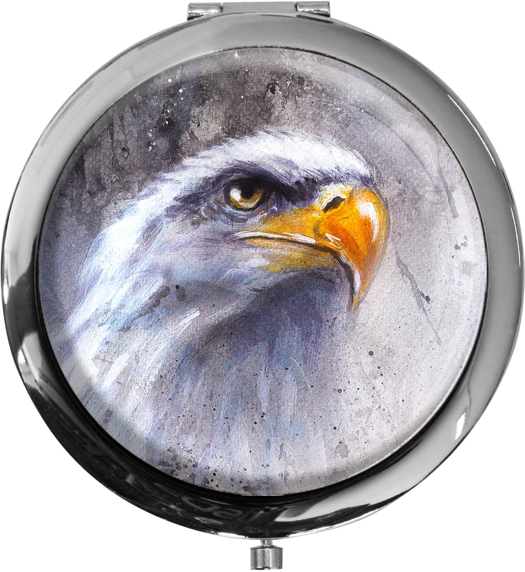 Taschenspiegel / Spiegel / Adler / Weißkopfseeadler / Raubvogel