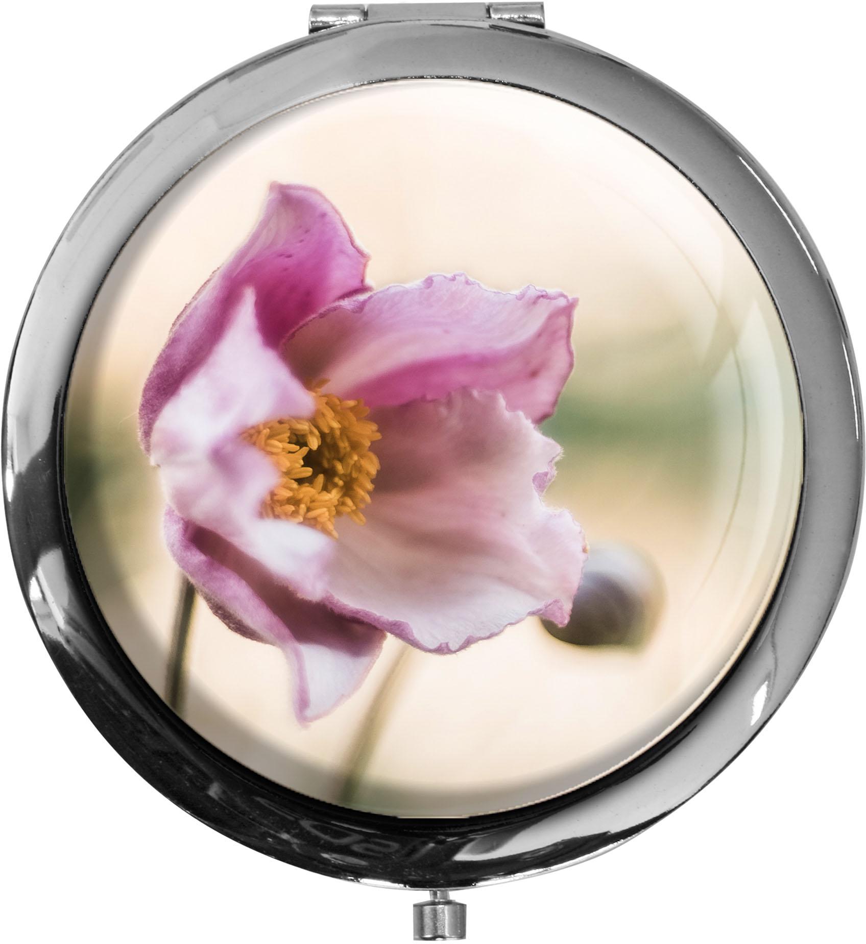 Taschenspiegel / Spiegel / Anemone