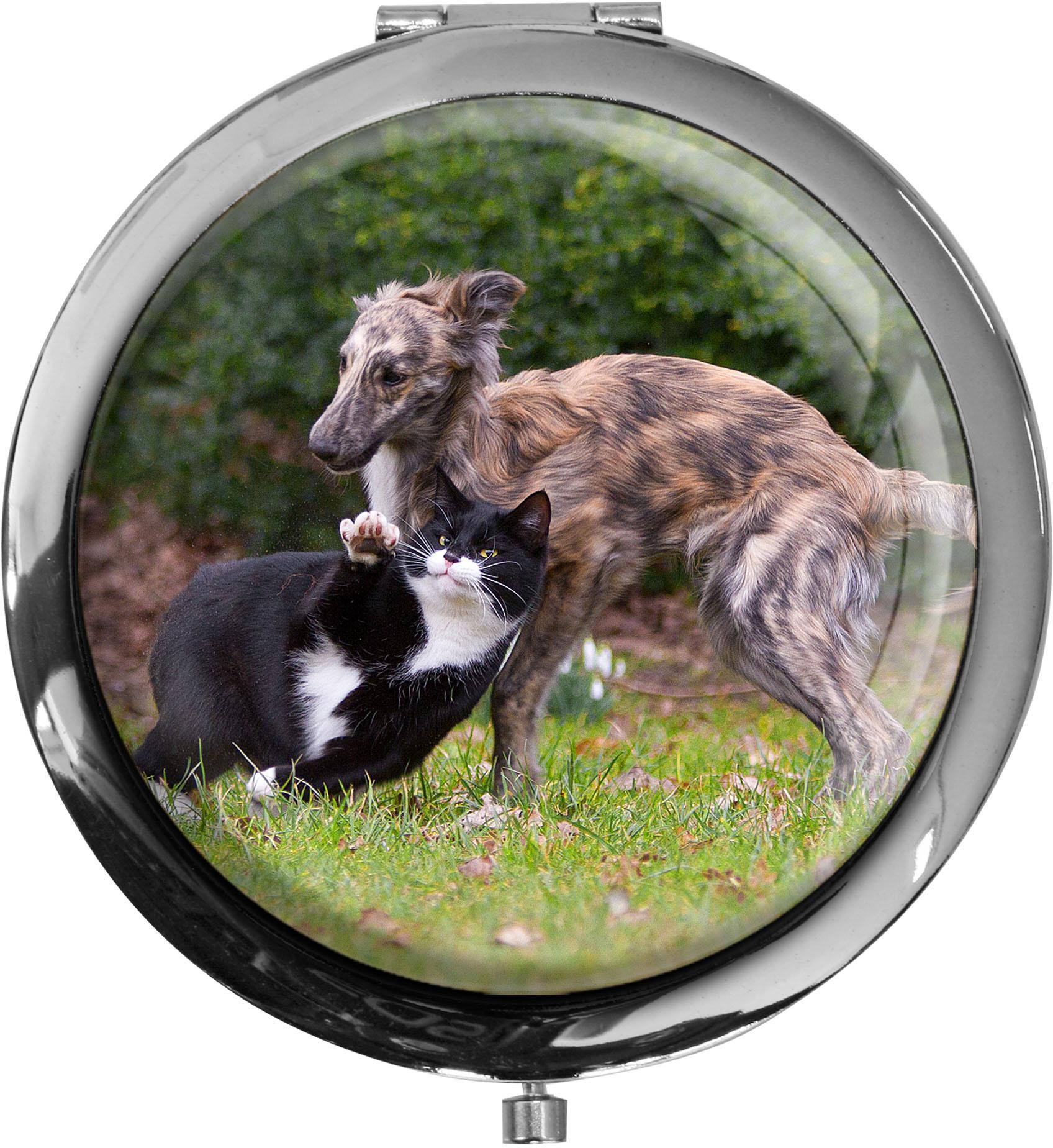 Taschenspiegel / Spiegel / Katzen / Hunde