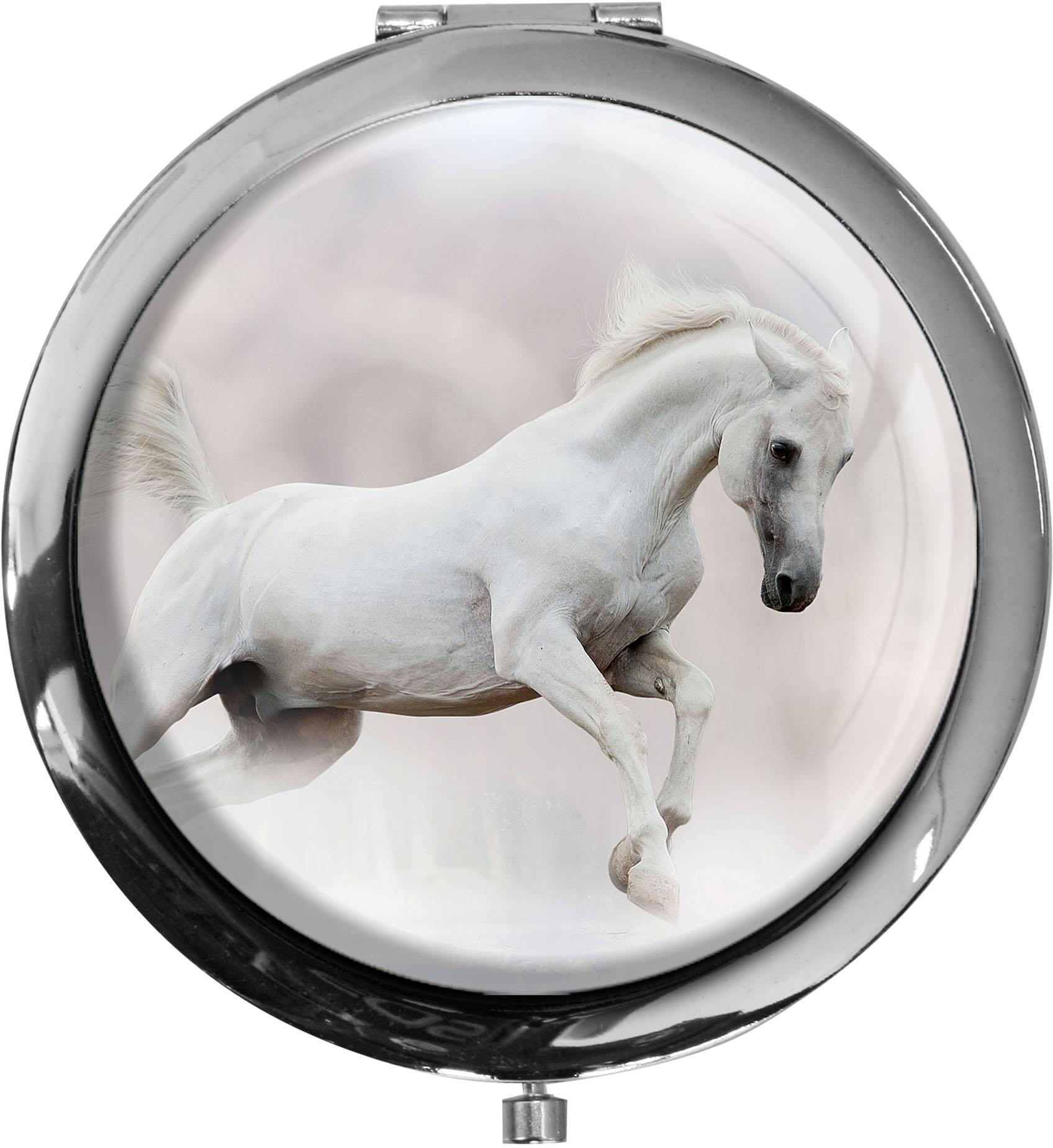 Taschenspiegel / Spiegel / Pferd