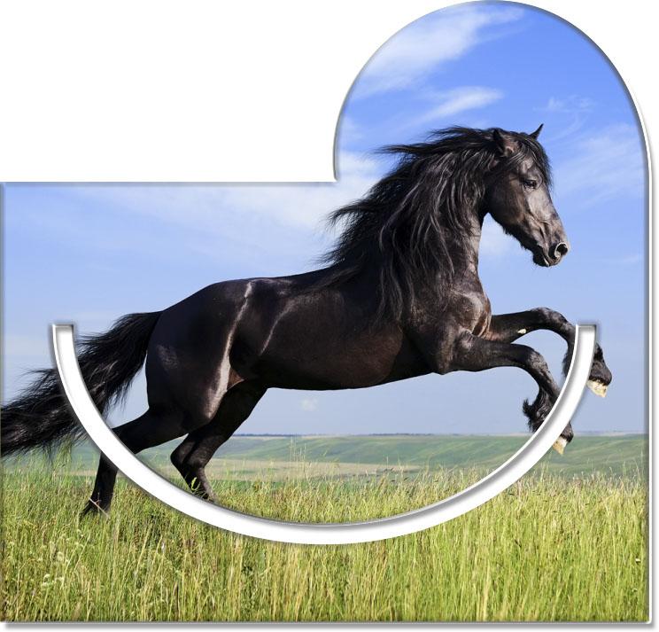 """Metall - Lesezeichen  """"Pferd"""""""