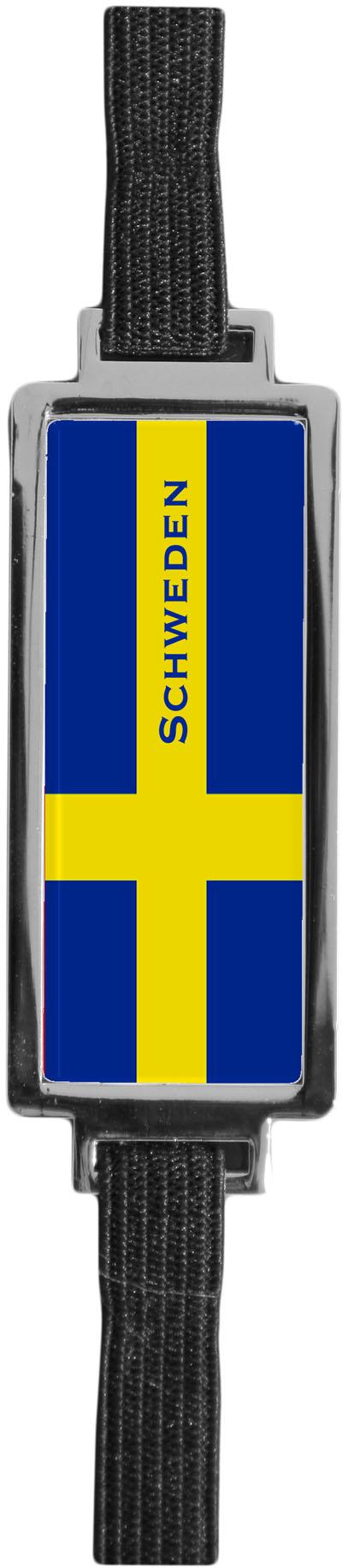 """Metall - Lesezeichen  """"Schweden"""""""