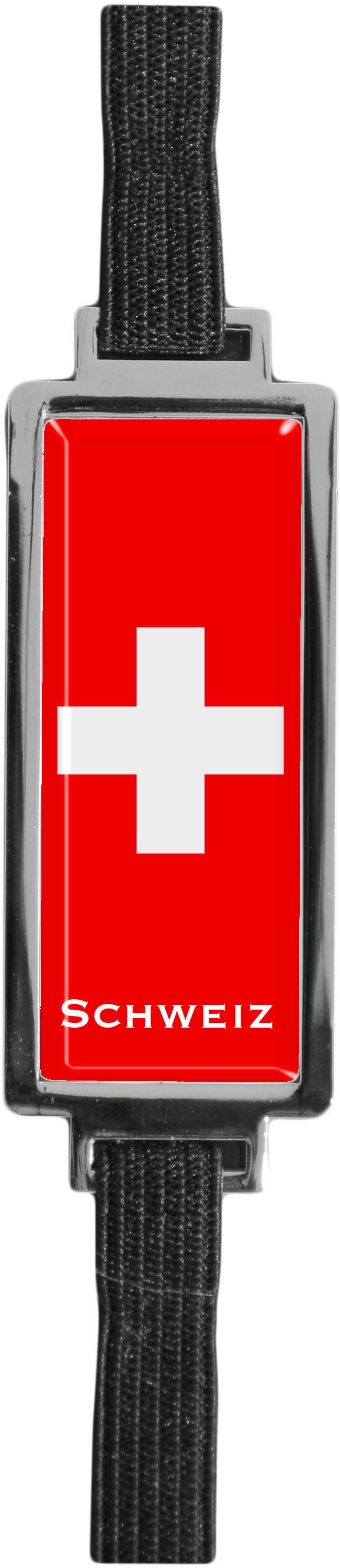 """Metall - Lesezeichen  """"Schweiz"""""""