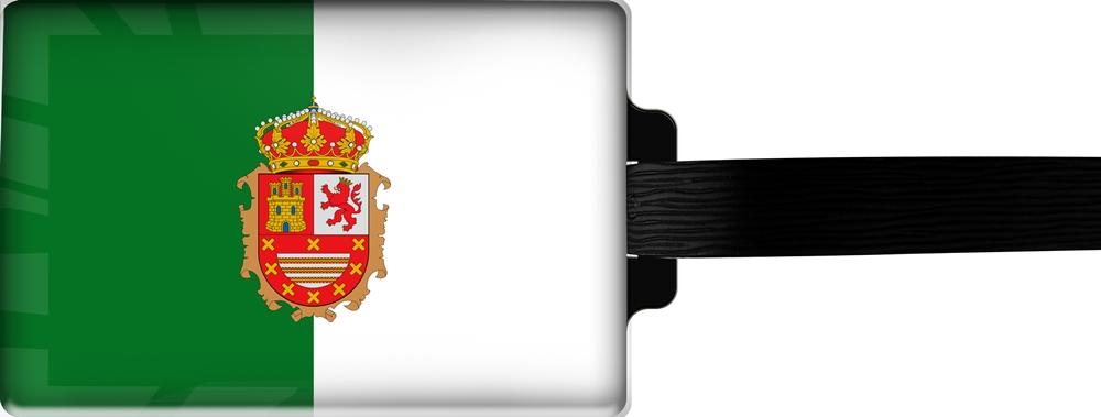 metALUm | Gepäckanhänger  verdecktes Adressfeld FLAGGE FUERTEVENTURA 3001040