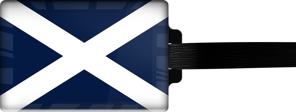 metALUm | Gepäckanhänger  verdecktes Adressfeld FLAGGE TENERIFFA 3001043