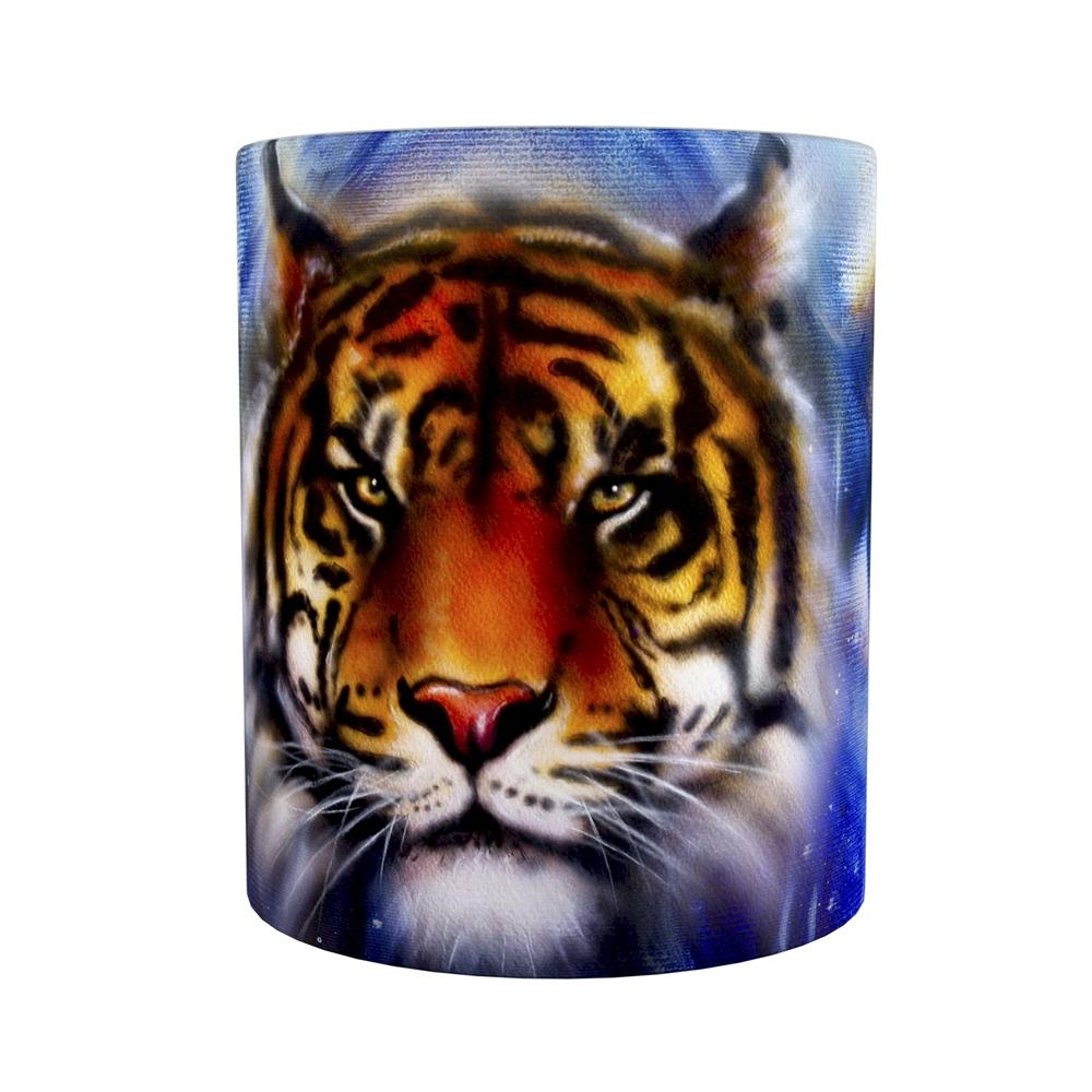 Kaffeetasse / Kaffeebecher / Tiger / Fantasy / Geschenktasse