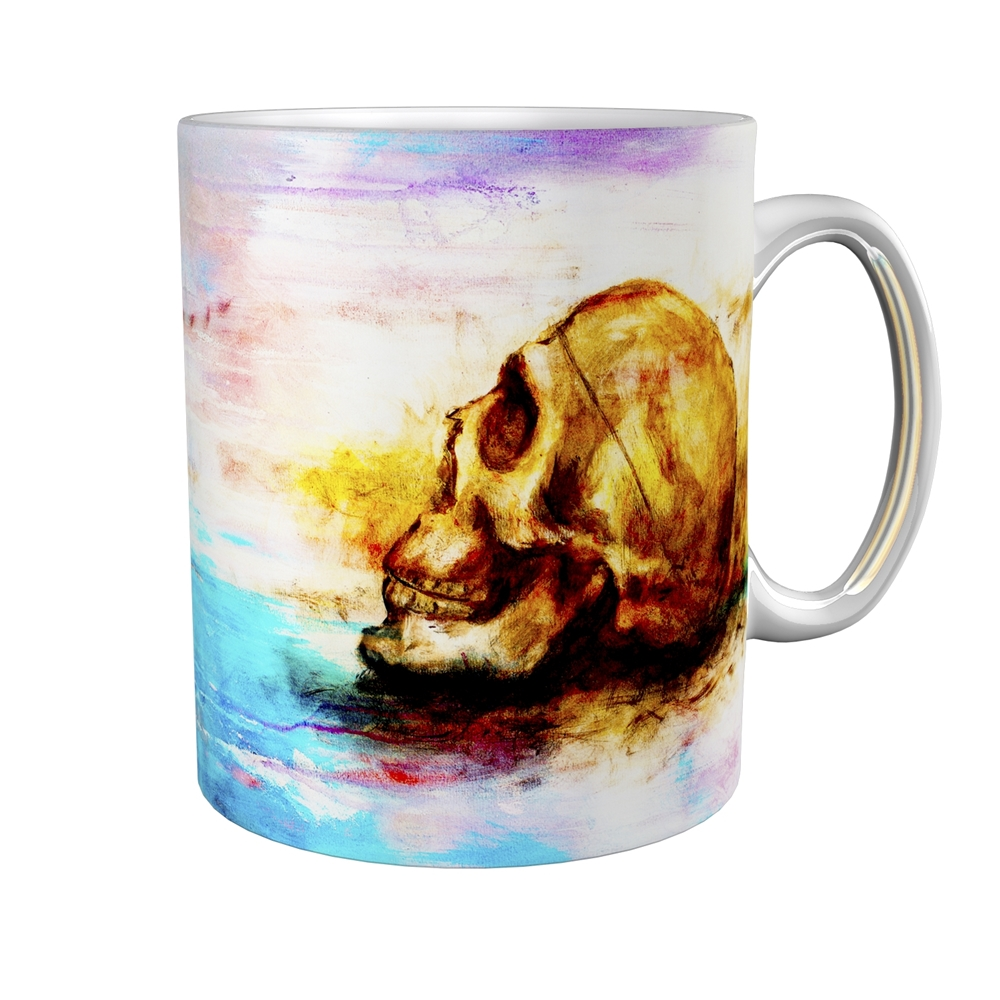 Kaffeetasse / Kaffeebecher / Totenköpfe / Geschenktasse