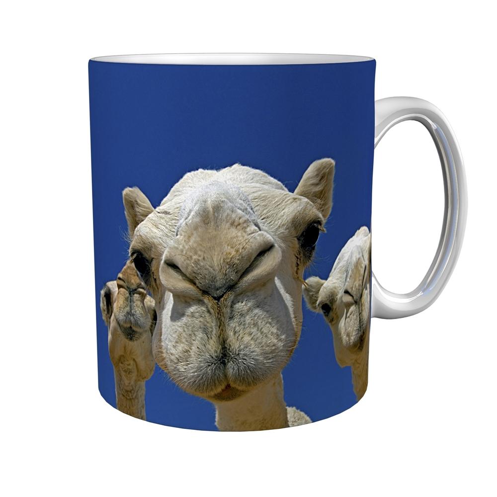 Kaffeetasse / Kaffeebecher / Kamele / Geschenktasse