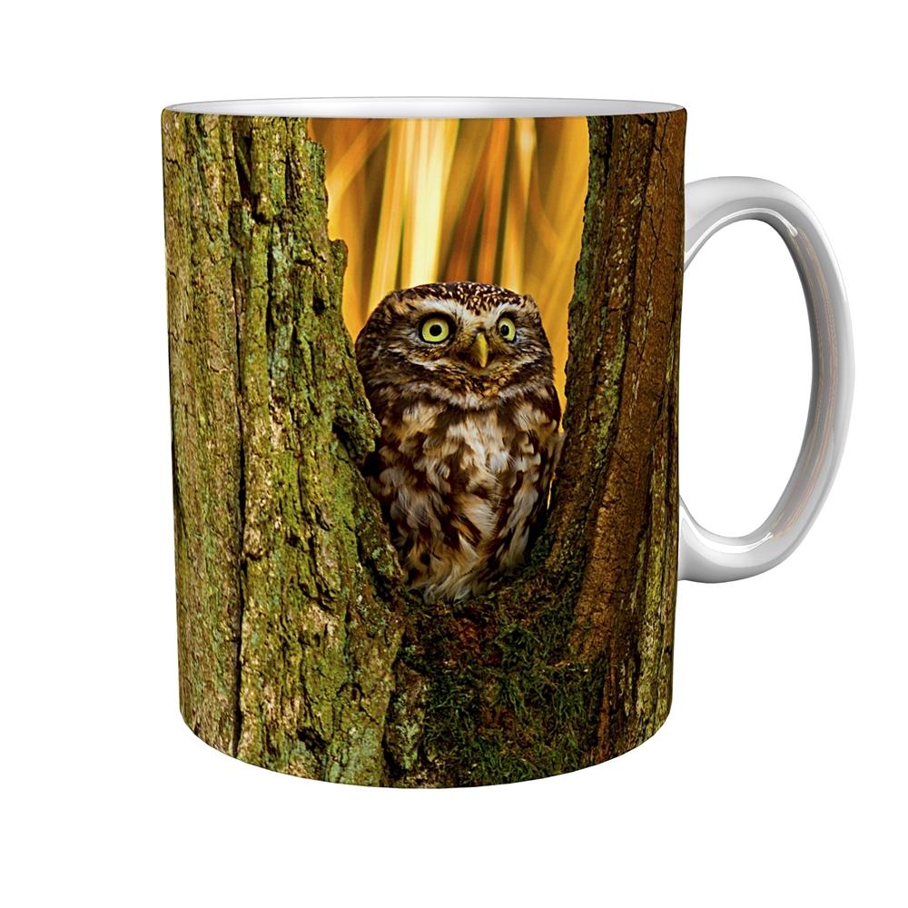 Kaffeetasse / Kaffeebecher / Eulen / Geschenktasse