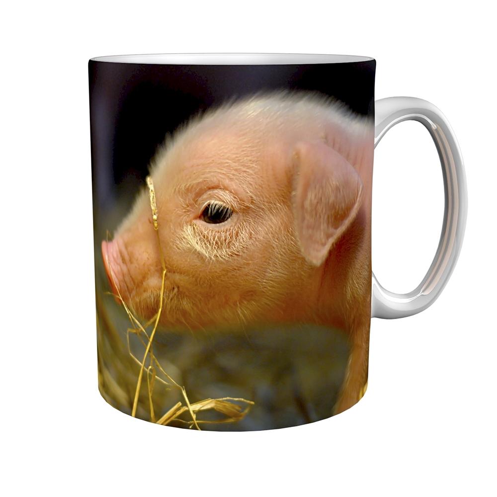 Kaffeetasse / Kaffeebecher / Schweinchen / Geschenktasse