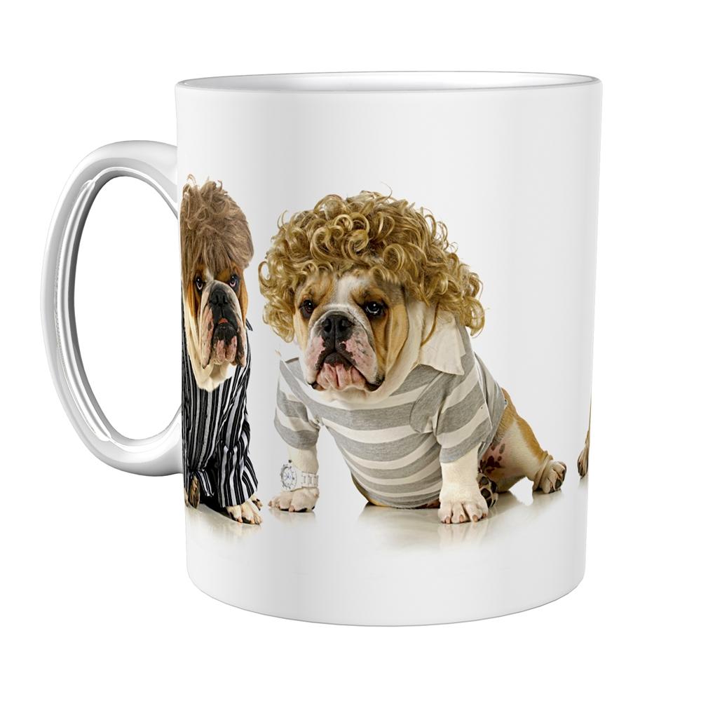 Kaffeetasse / Kaffeebecher / Hunde / Bulldoggen / Geschenktasse