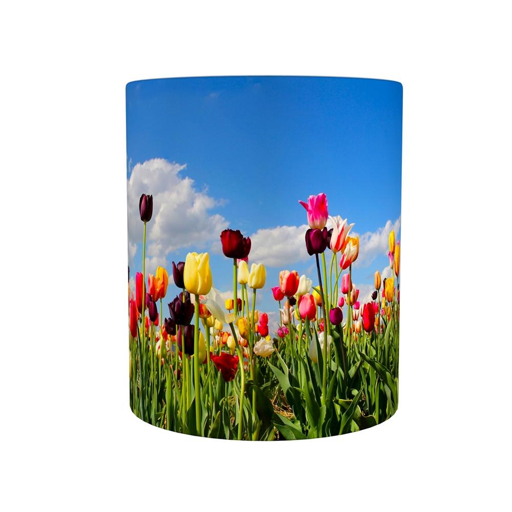 Kaffeetasse / Kaffeebecher / Tulpen / Geschenktasse