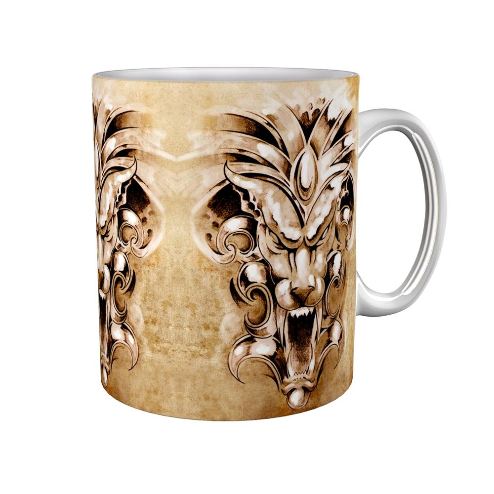 Kaffeetasse / Kaffeebecher / Gargoyle / Geschenktasse
