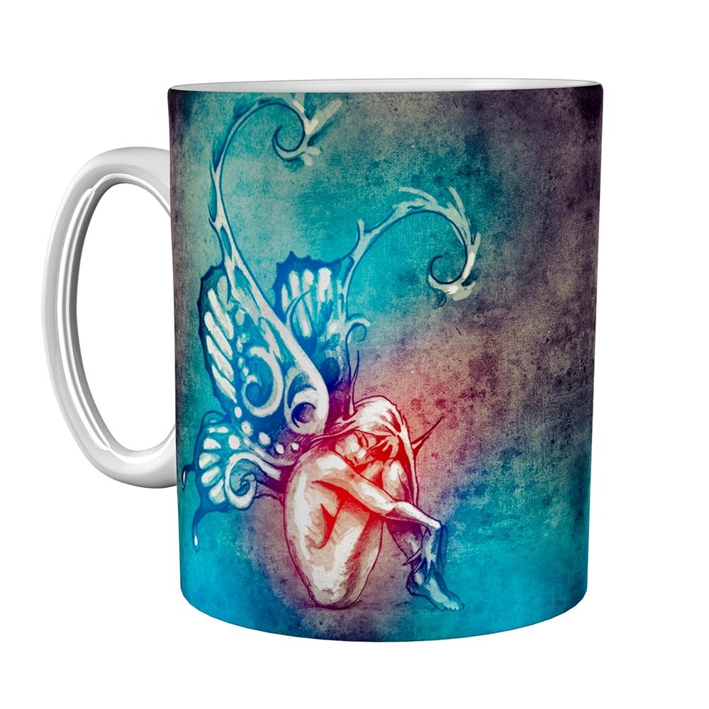 Kaffeetasse / Kaffeebecher / Elf / Geschenktasse