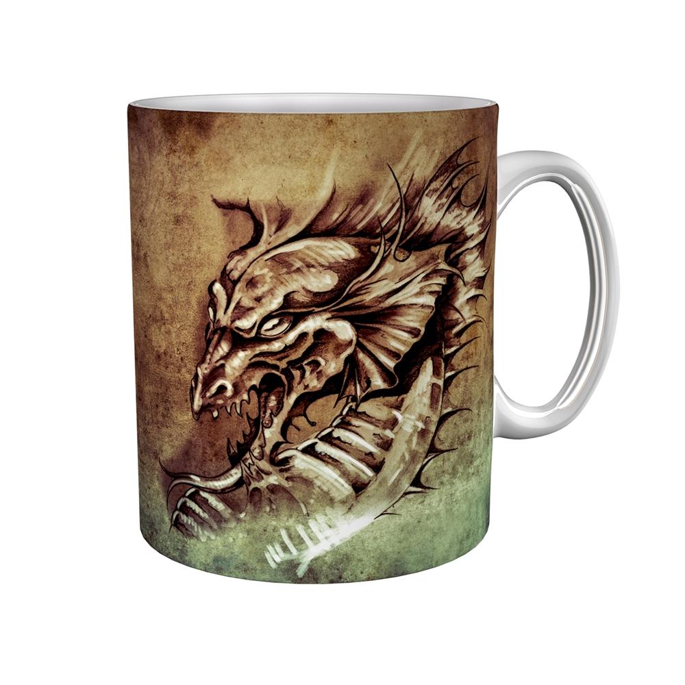 Kaffeetasse / Kaffeebecher / Drache / Geschenktasse