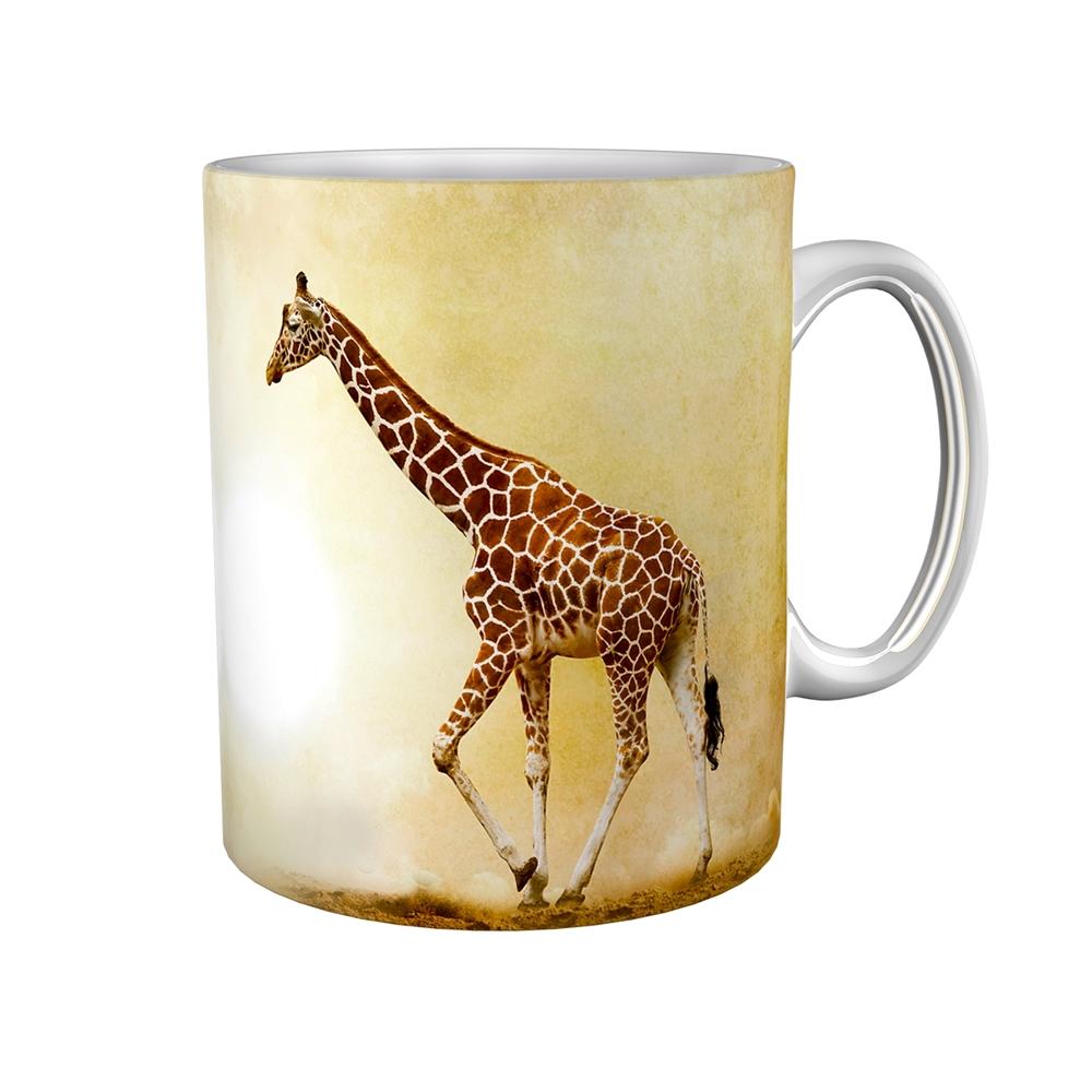 Kaffeetasse / Kaffeebecher / Giraffe / Geschenktasse