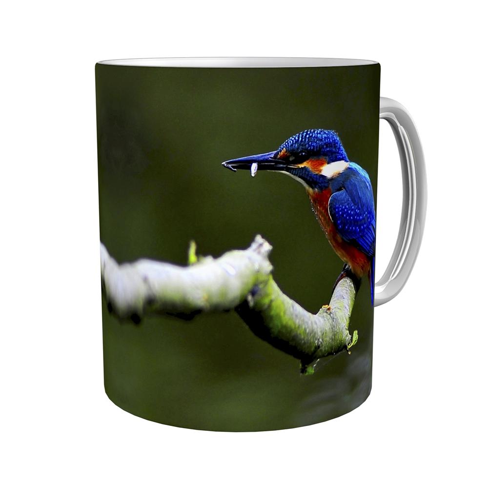 Kaffeetasse / Kaffeebecher / Eisvogel / Geschenktasse