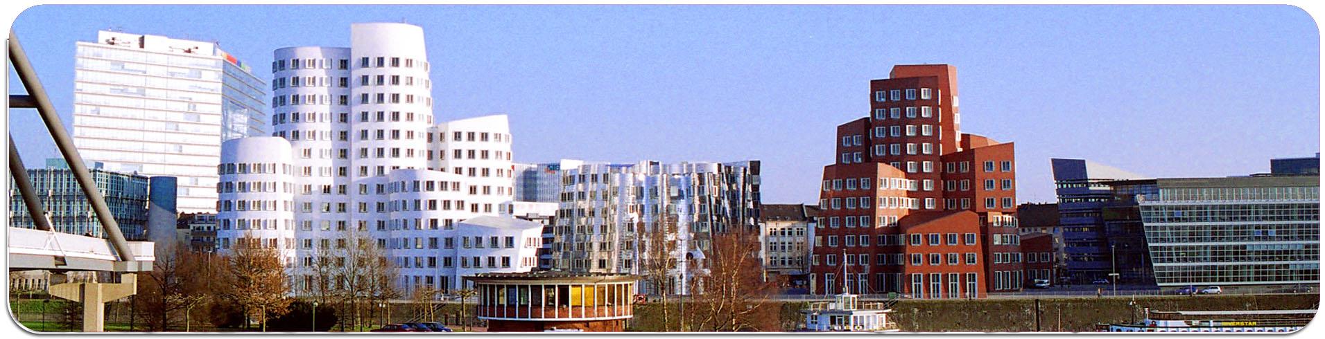 """Metall - Lesezeichen  """"Düsseldorf"""""""