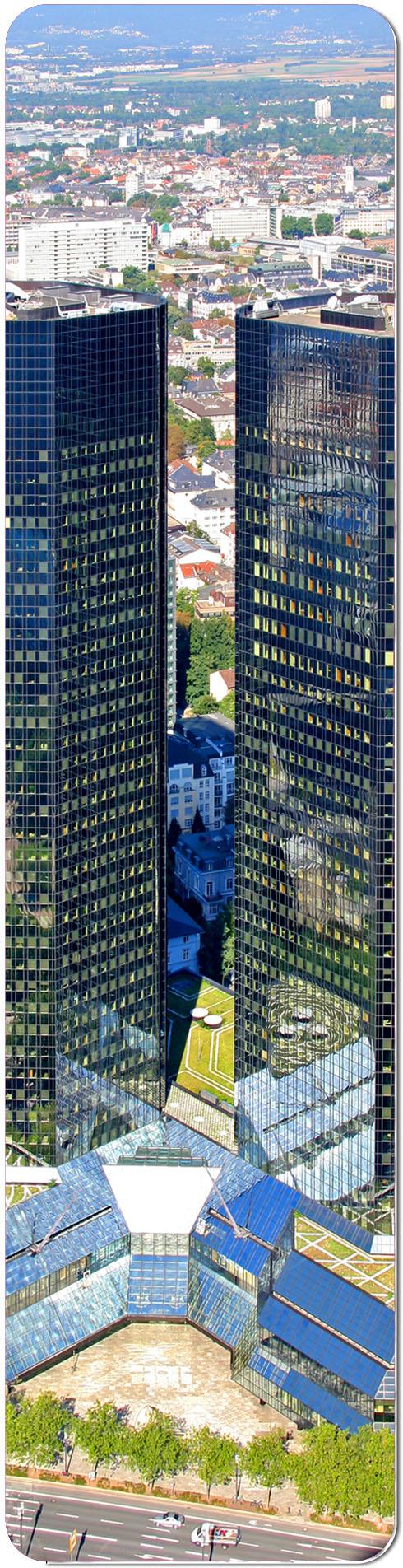 """Metall - Lesezeichen  """"Frankfurt"""""""