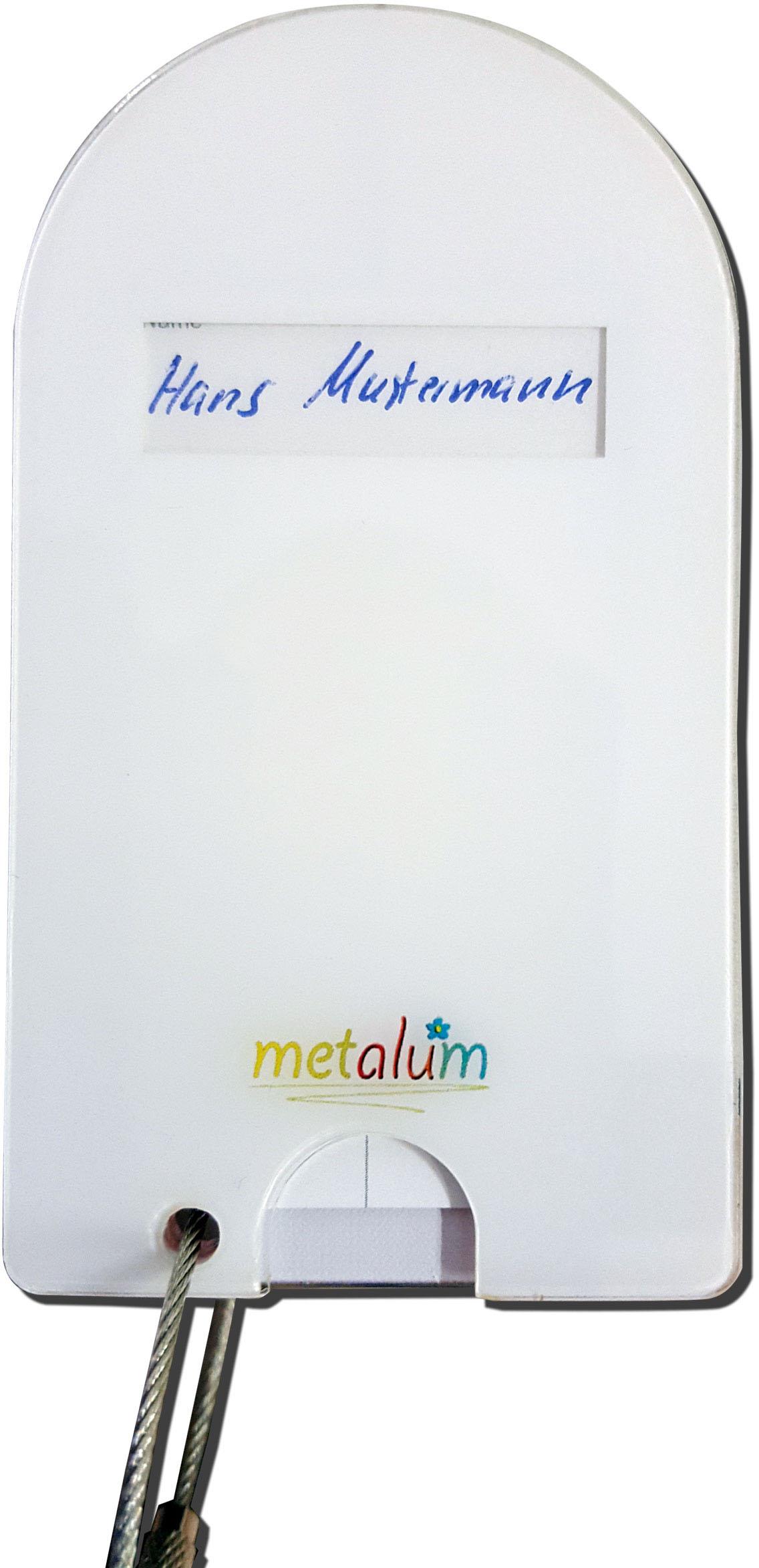 """metALUm Premium Gepäckanhänger """"Waschbär"""""""