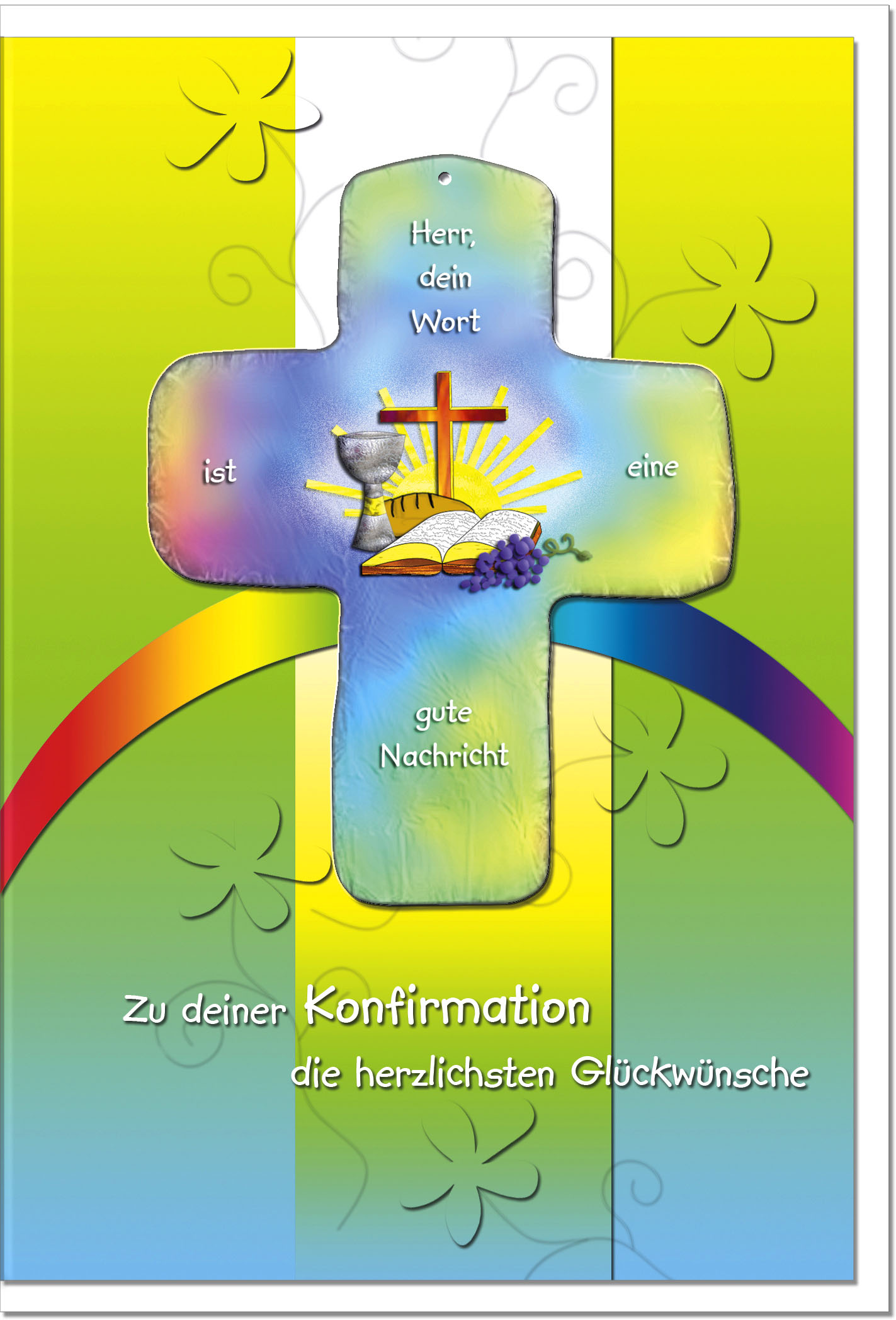 Konfirmationskarten / Grußkarten /Konfirmation Abendmahl