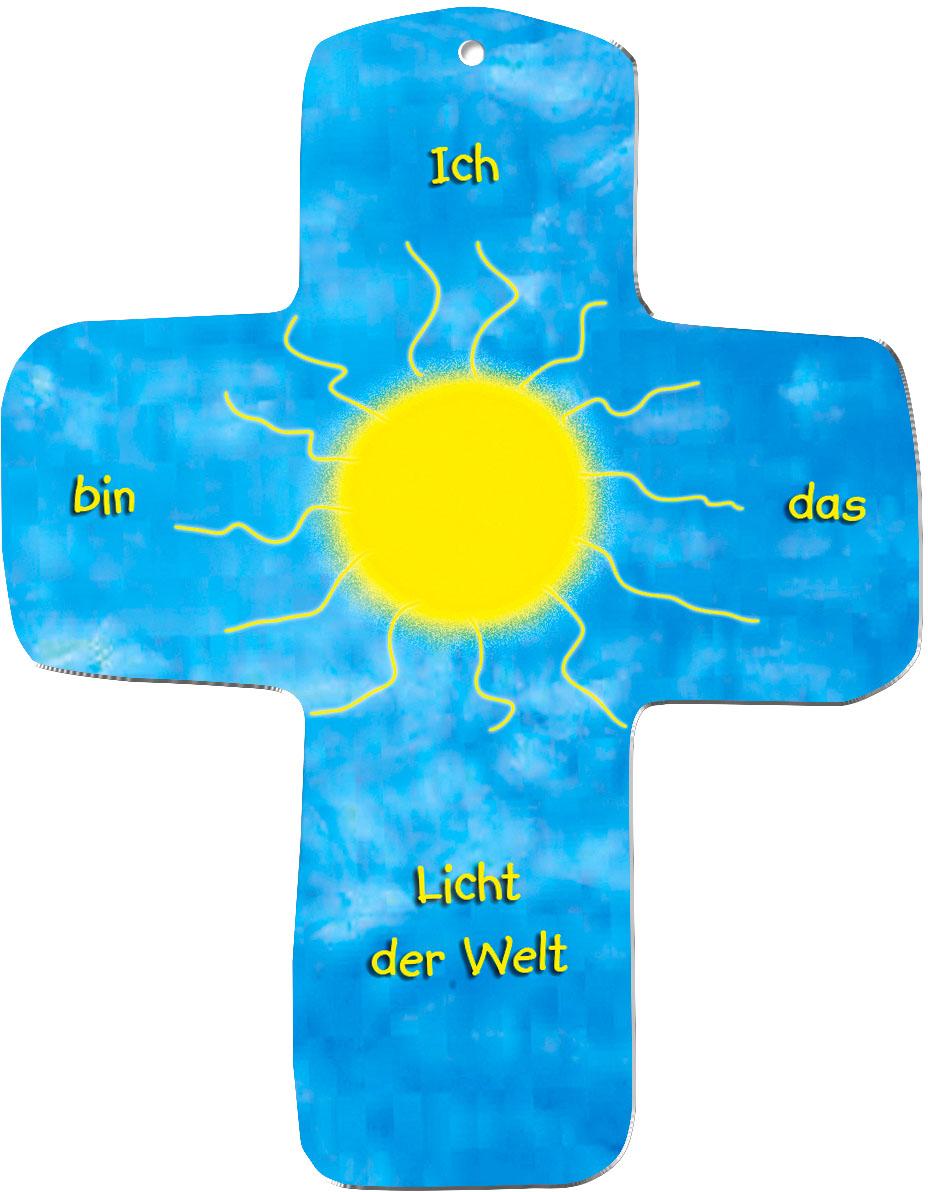 "metALUm Wandkreuze ""Sonne"""