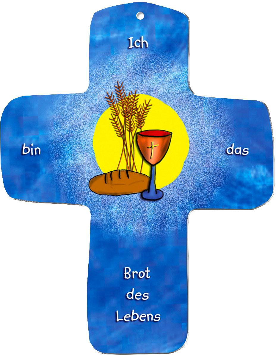 "metALUm Wandkreuze ""Brot des Lebens"""