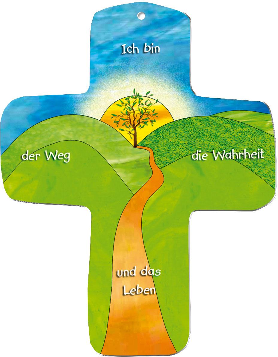 """metALUm Wandkreuze """"Weg"""""""