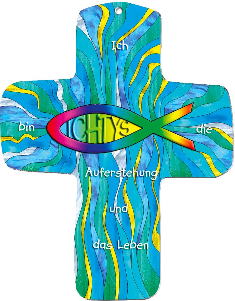 """metALUm Wandkreuze """"Ichtys"""""""