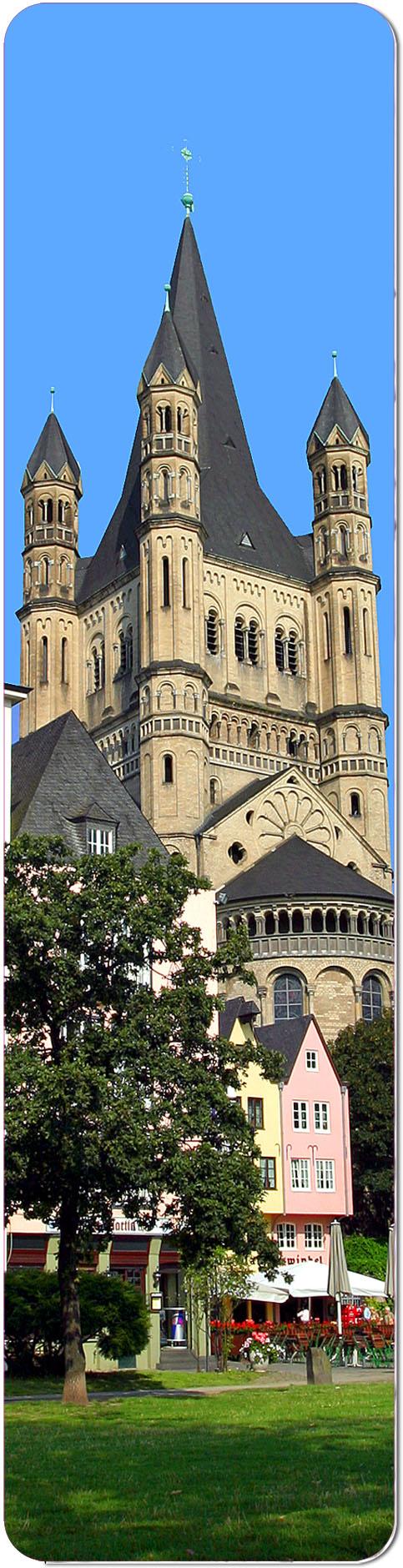 """Metall - Lesezeichen  """"Köln"""""""