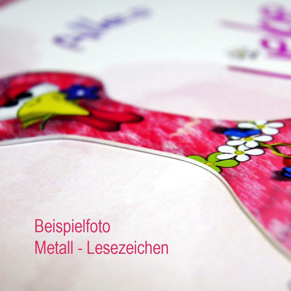 """Metall - Lesezeichen  """"Fledermaus"""""""