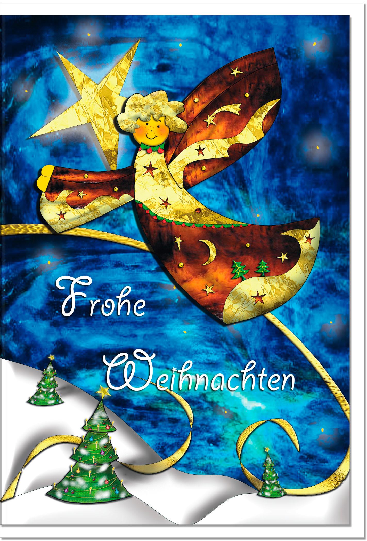 Weihnachtskarten / Grußkarten /Weihnachten Engel