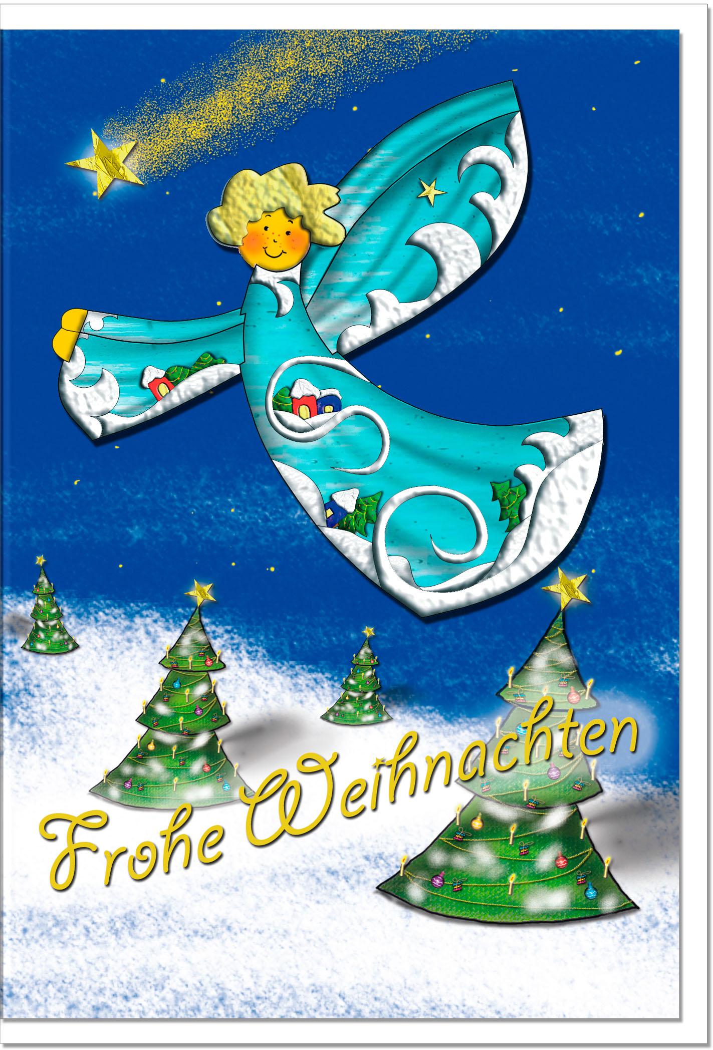 Bilder Weihnachtskarten.Weihnachtskarten Grußkarten Weihnachten Engel