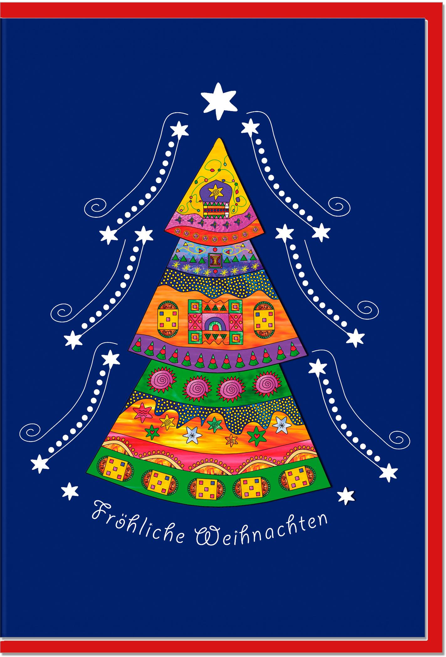 Weihnachtskarten / Grußkarten /Weihnachten Weihnachtsbaum