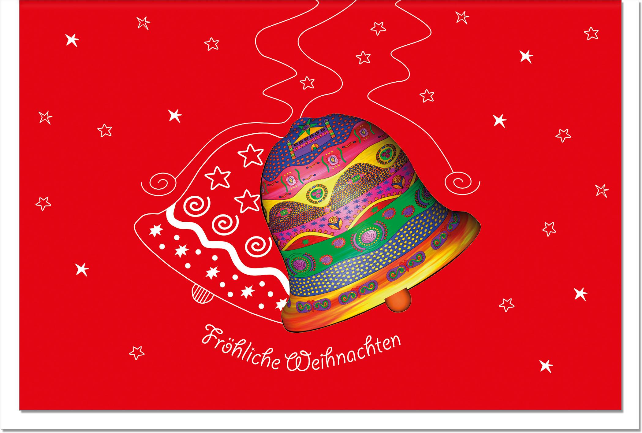 Weihnachtskarten / Grußkarten /Weihnachten Glocke