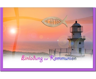 Metalum invitation CARTES DE (Kit COMMUNION (Kit DE de 50)